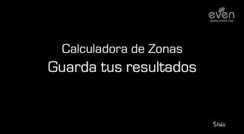 calculadora zonas EVEN