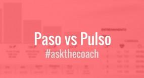 Entrenamiento en base a ¿Pulso o Paso?